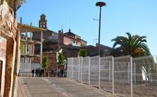 Calahorra prevé 5.500 euros en pirotecnia para el fin de obra de la plaza de la Verdura