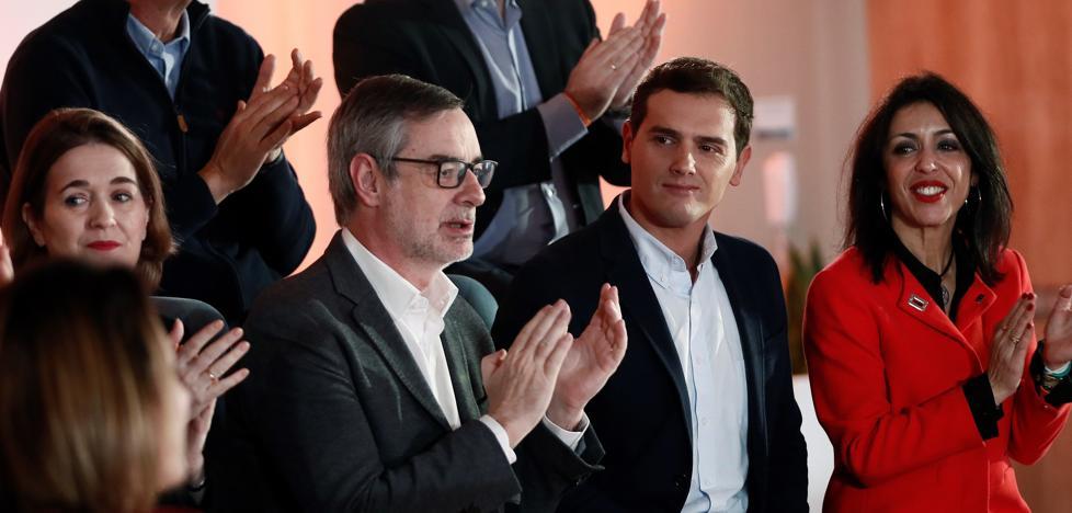 Rivera encara el 26-M como «un plebiscito» sobre Sánchez