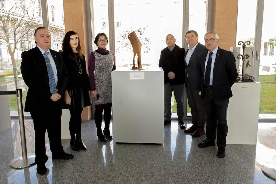 Ramón Rodríguez gana el concurso de escultura 'Santo Domingo de la Calzada, ingeniero del Camino'