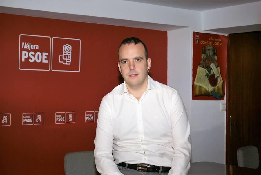 El socialista Jonás Olarte anuncia su candidatura a la reelección en Nájera