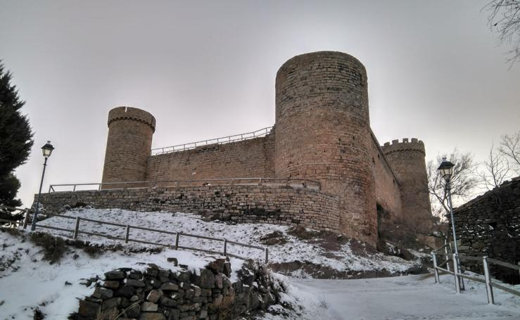 Domingo de nieve en La Rioja