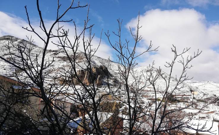 La nieve cubre Jubera