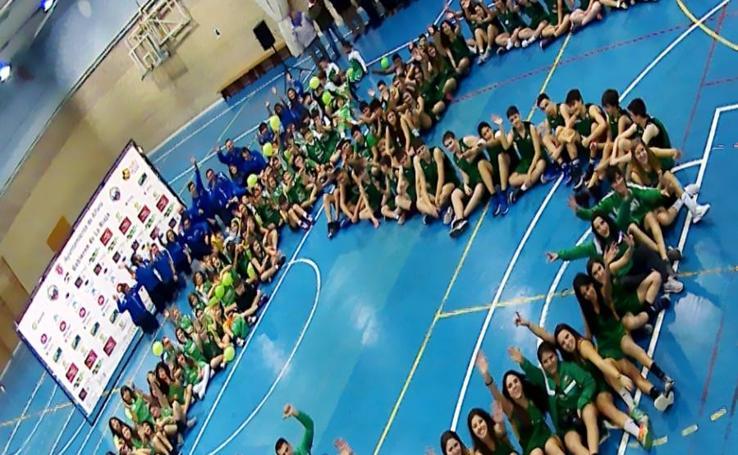 Presentación de la temporada en el XV aniversario del Club Baloncesto Alfaro