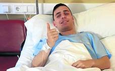 Álvaro Arnedo vuelve al quirófano a causa de su rodilla izquierda