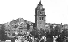 Puente sobre el Cidacos en Calahorra
