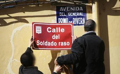Justicia pide a 10 ayuntamientos riojanos retirar los vestigios franquistas