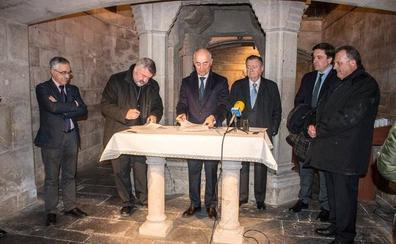 Ferrovial aporta 20.000 euros para restaurar la cripta de Santo Domingo