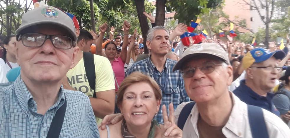Riojanos en Venezuela: «Ahora estamos en el umbral de la pobreza»
