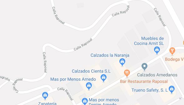 Herida una joven de 27 años en un atropello en Arnedo