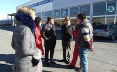 La Delegación negocia mejoras en los accesos a los negocios ubicados junto a la N-124