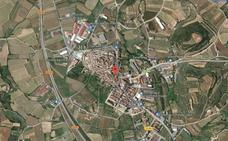 La Guardia Civil investiga la aparición de un cadáver en Entrena