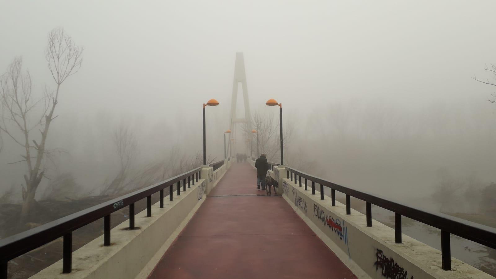 La niebla causa problemas en algunas carreteras riojanas
