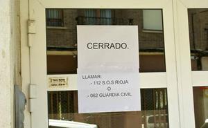 Policía Local de Nájera, cerrada. Llamar a SOS Rioja o Guardia Civil