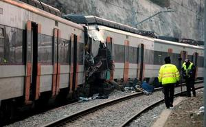 Ábalos no descarta la «concatenación de errores humanos» en el accidente de tren de Barcelona