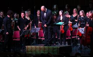 Desde la Joven Orquesta de la UR para ARPANIH