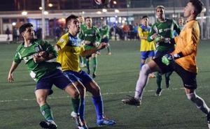 El Berceo doblega al Rapid de Murillo con tres goles de Peso