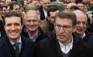 Ceniceros: «Hemos estado todos los que queremos la unidad de España»