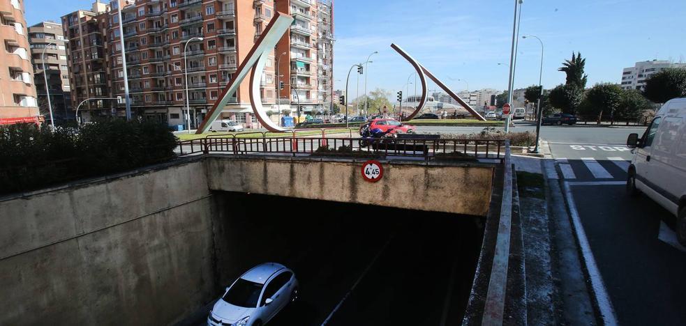 El túnel de Duques de Nájera cierra dos semanas desde este lunes