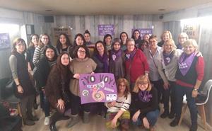 Las feministas de Calahorra se preparan para la huelga del 8M