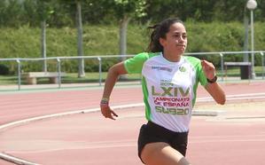 Patricia Urquía gana el oro en 200 en el Nacional sub 23