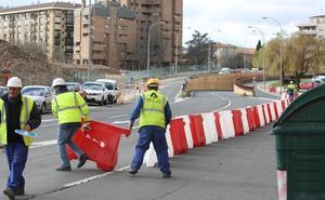 El túnel de Duques de Nájera, cerrado al tráfico durante dos semanas