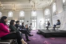 Jornada 'Crecer con Europa' en el Círculo Logroñés