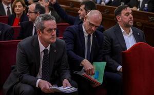 Los líderes del 'procés' basan toda su defensa en la vulneración de derechos políticos