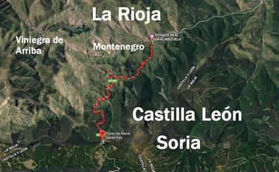 Soria mejorará el acceso desde el puerto de Santa Inés a La Rioja