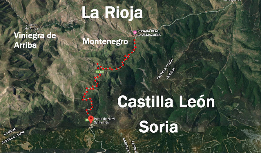 Soria mejorará el acceso desde el puerto de Santa Inés a La Rioja | La Rioja