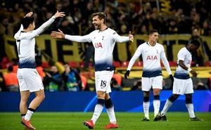 Llorente marca el tercer tanto en la victoria del Tottenham