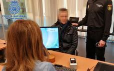Detenido un hombre buscado por tres robos cuando fue a renovarse el DNI en Logroño