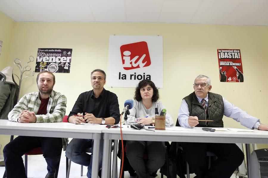IU presenta una lista «integradora» a las elecciones de Logroño