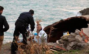Encuentran el cadáver calcinado de una mujer en la costa de Ceuta