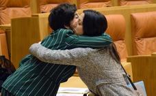 La sesión del Pleno del Parlamento de La Rioja