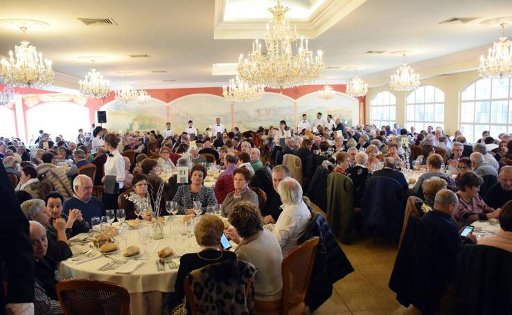Comida de hermandad de la Unión de Pensionistas y Jubilados de La Rioja