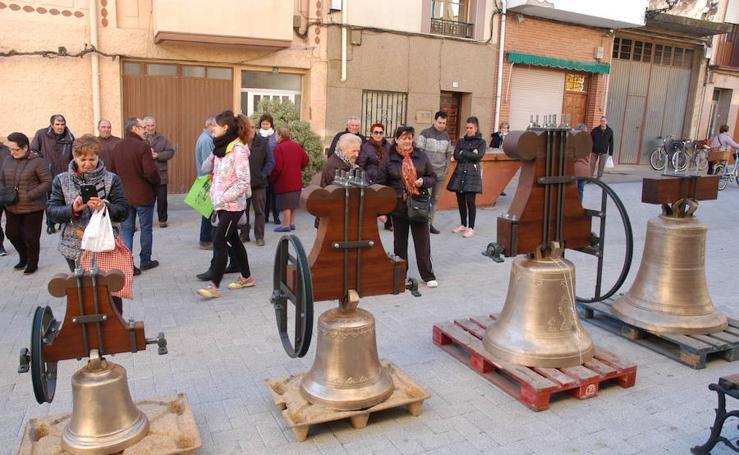 Las campanas vuelven a sonar en Rincón de Soto