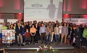 Logroño Deporte premió a los 33 atletas más fieles al V Circuito de Carreras