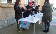 Chocolatada solidaria en el colegio San Felices de Haro