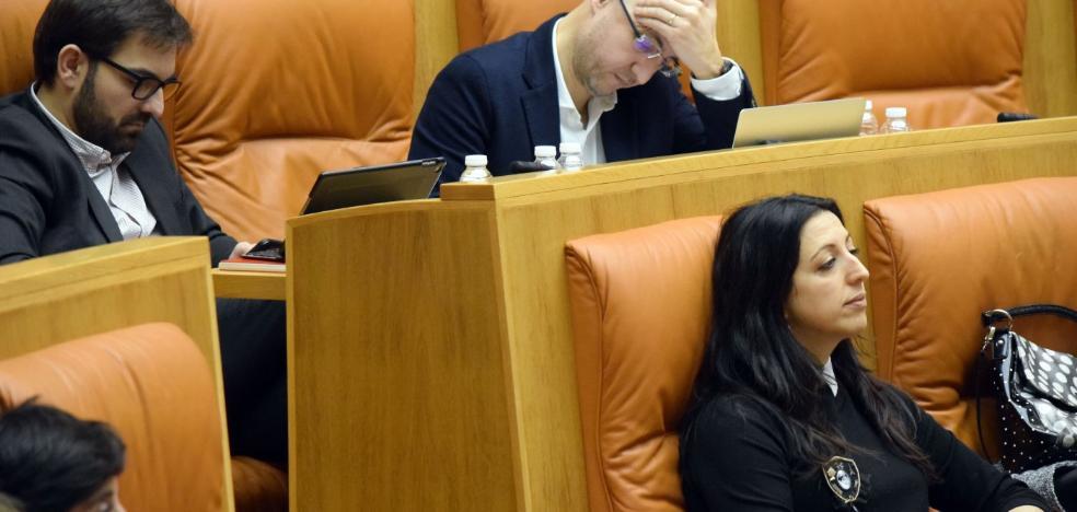 El Parlamento deniega a Cs la carta en la que Grajea informó de su «situación insostenible»