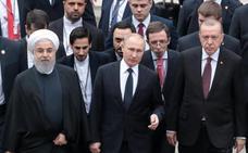 Turquía plantea una intervención con Rusia e Irán contra yihadistas en Siria