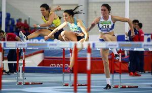 Patricia Ortega, subcampeona nacional de pentatlón con récord autonómico