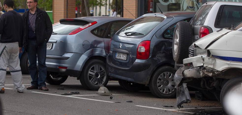 La Rioja registra cada día en sus vías 33 choques de vehículos sin víctimas