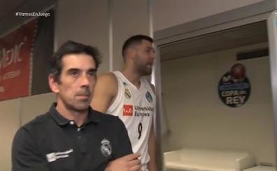 Felipe Reyes y Rudy explotan contra los árbitros: «Vaya robo, qué verguenza»