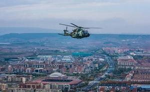 El helicóptero HN90 del Ejército de Tierra cumple 3.000 horas de vuelo
