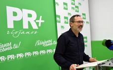 Antoñanzas anuncia que el PR+ concurrirá a las elecciones generales