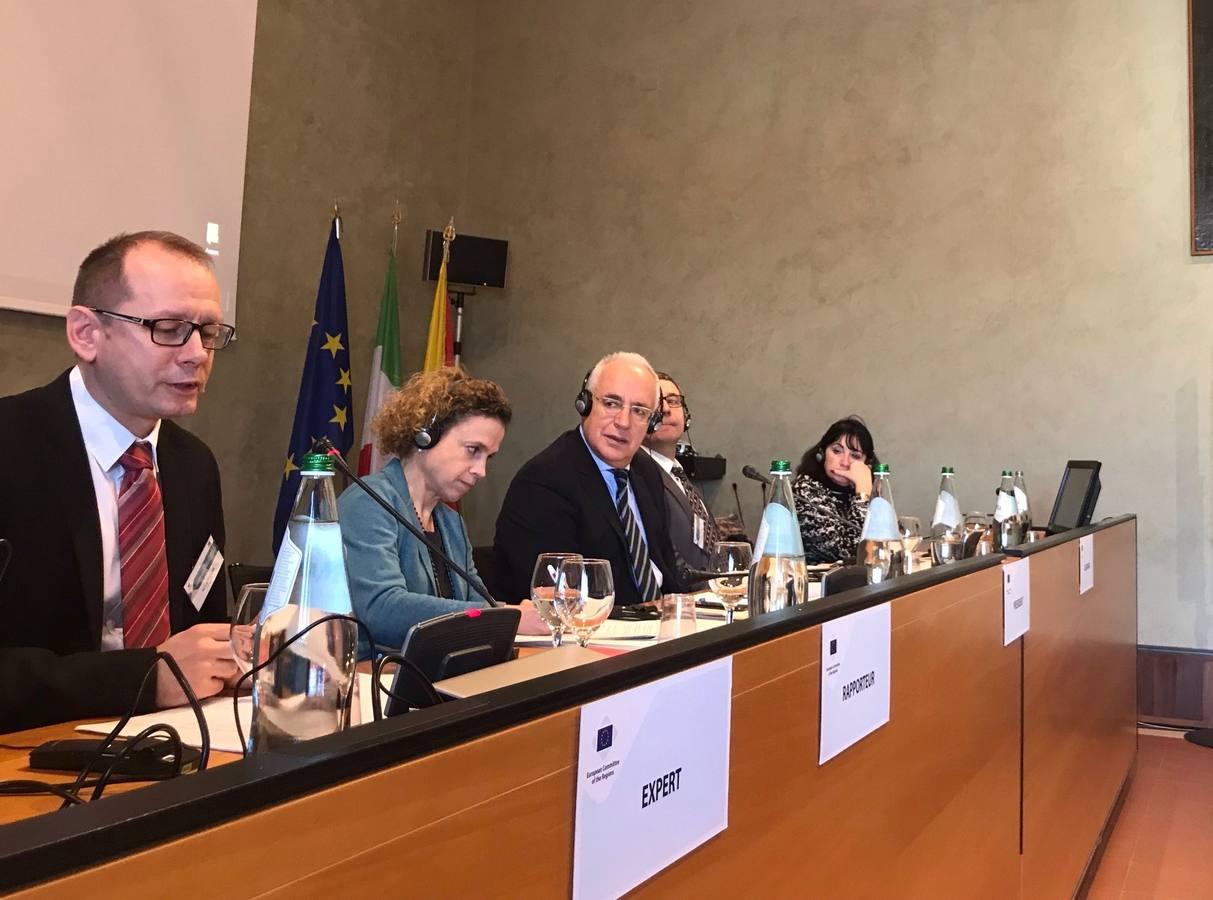 Ceniceros propone que la Agenda 2030 se trate en el Comité de las Regiones