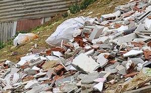 Contra el vertido incontrolado de residuos de construcción