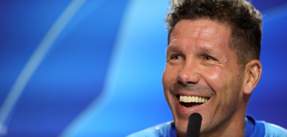 Simeone cree que Cristiano acertó al irse a la Juventus