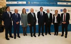 Ceniceros ofrece La Rioja como plataforma para la implantación de proyectos innovadores