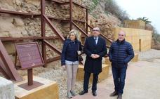 Finalizan las obras del muro de contención en la calle Murallas